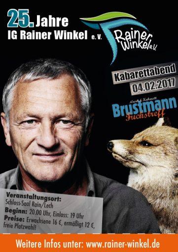 Flyer Jubiläumswochenende 3-5. Feb 2017